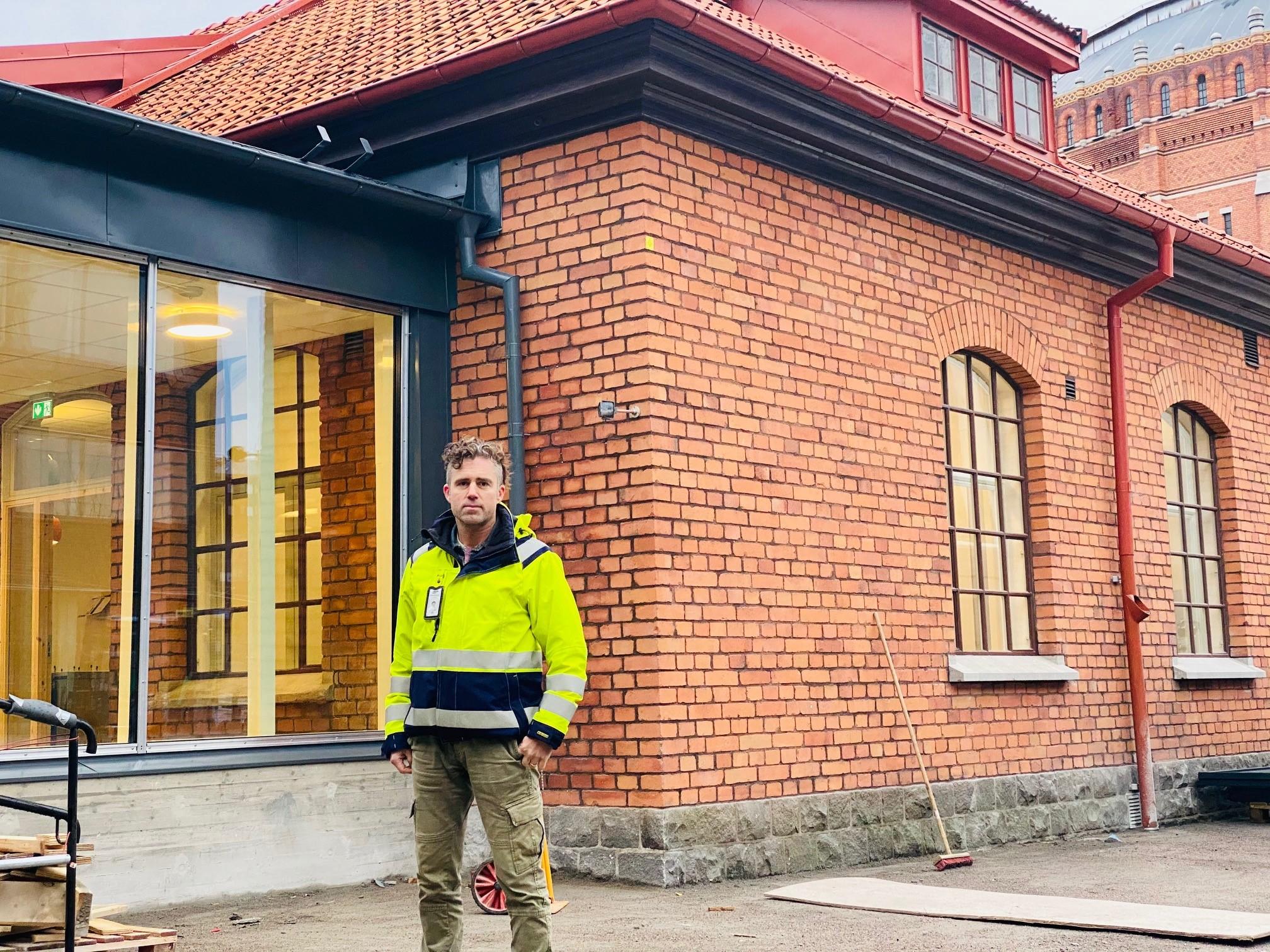 Bygg och projektledning Förskolan Anna